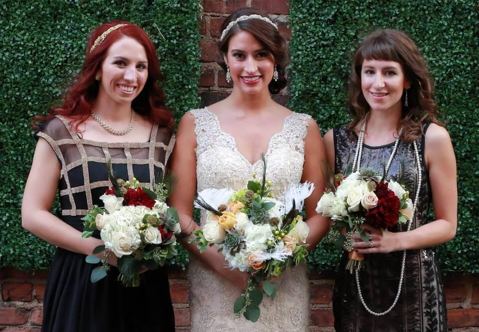 Jayme Real Bride - Bridesmaids