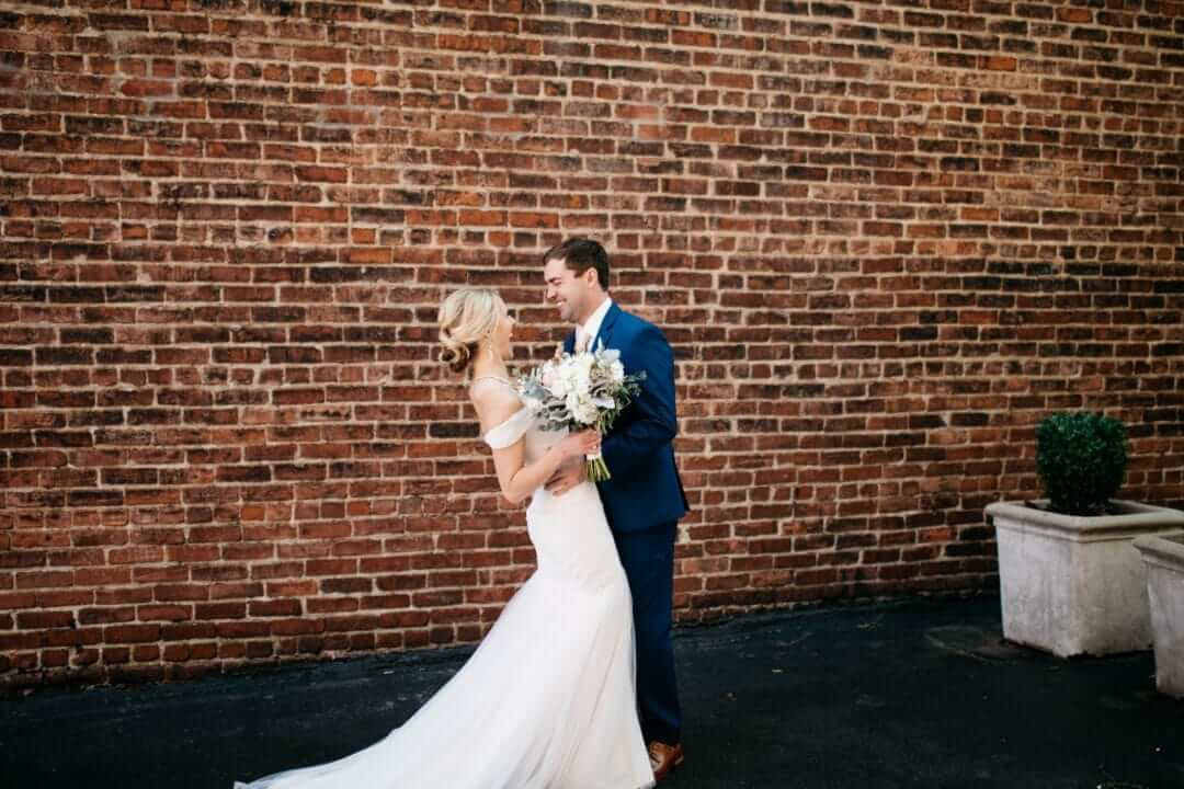 Image for Real Belle Vogue Bride – Elizabeth + Wade