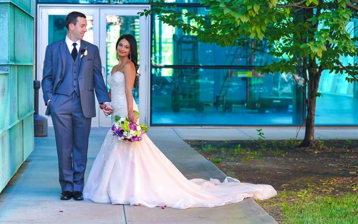 Image for Real Belle Vogue Bride – Rupal + Jerrod