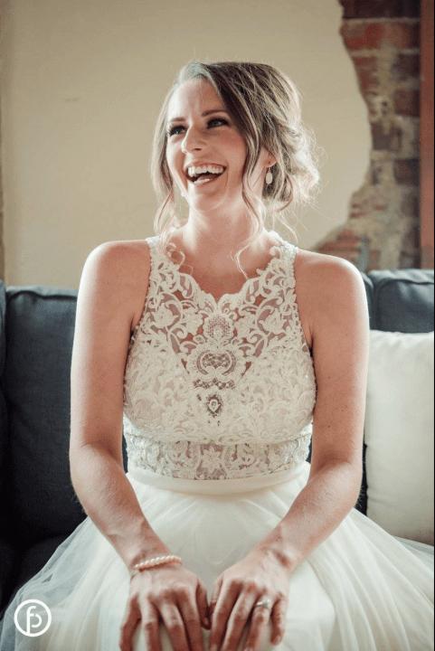 Real Bride Martina Liana Separates - Brookside