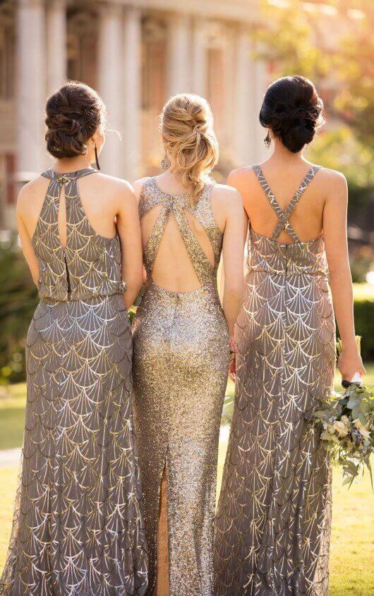 Sequin Bridesmaid Dresses from designer Sorella Vita