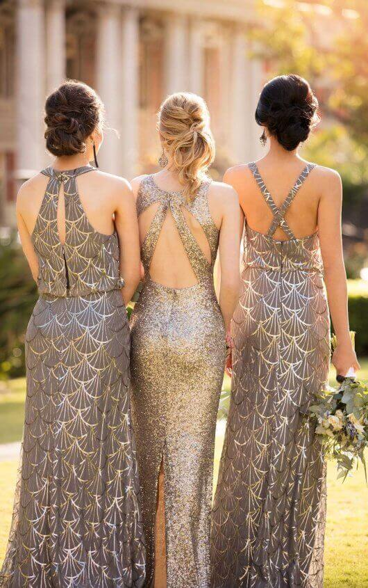 Sequin Bridesmaid Dresses from designer Sorella Vita