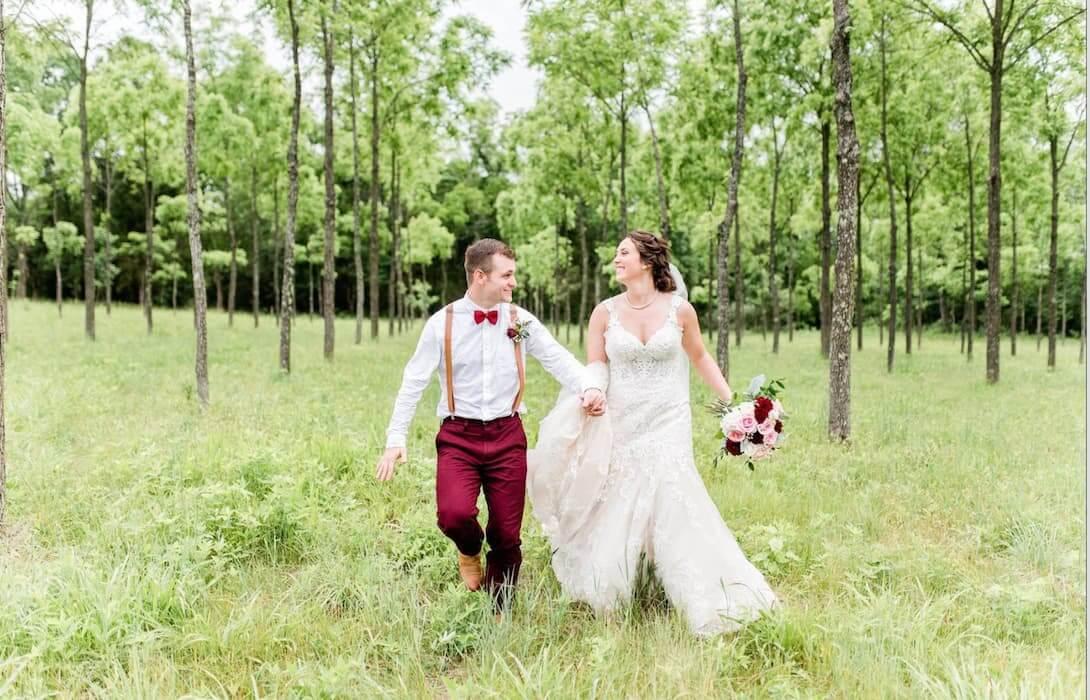 Image for Real Belle Vogue Bride: Caitlin + Jeremy