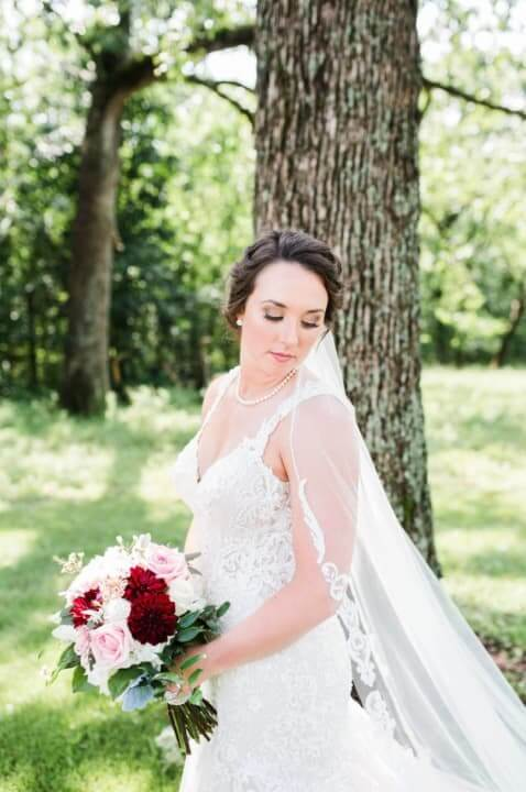 Real Bride Caitlin - Belle Vogue Bridal