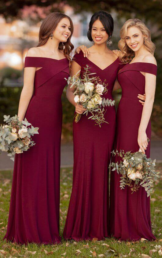 Sorella Vita Bridesmaid Red Dresses