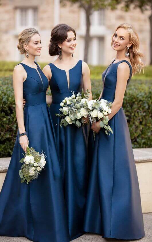 Sorella Vita Bridesmaids dresses in Navy Mix