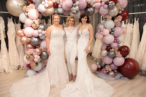 Belle Vogue Bridal Martine Harris and Models - Kansas City