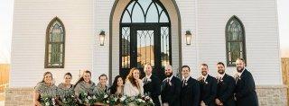 Image for Real Belle Vogue Bride Audrey + Jeff