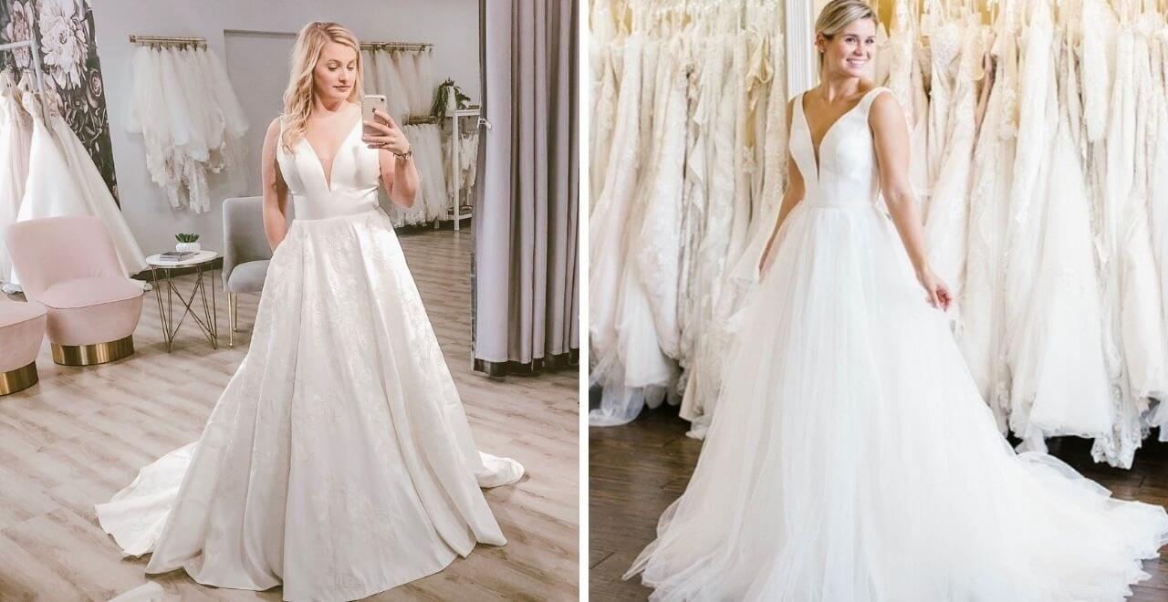 Simple Classic Wedding Dresses Are Always In Style Belle Vogue Bridal