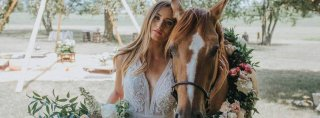 Image for A Styled Boho Shoot of Your Bridal Dreams