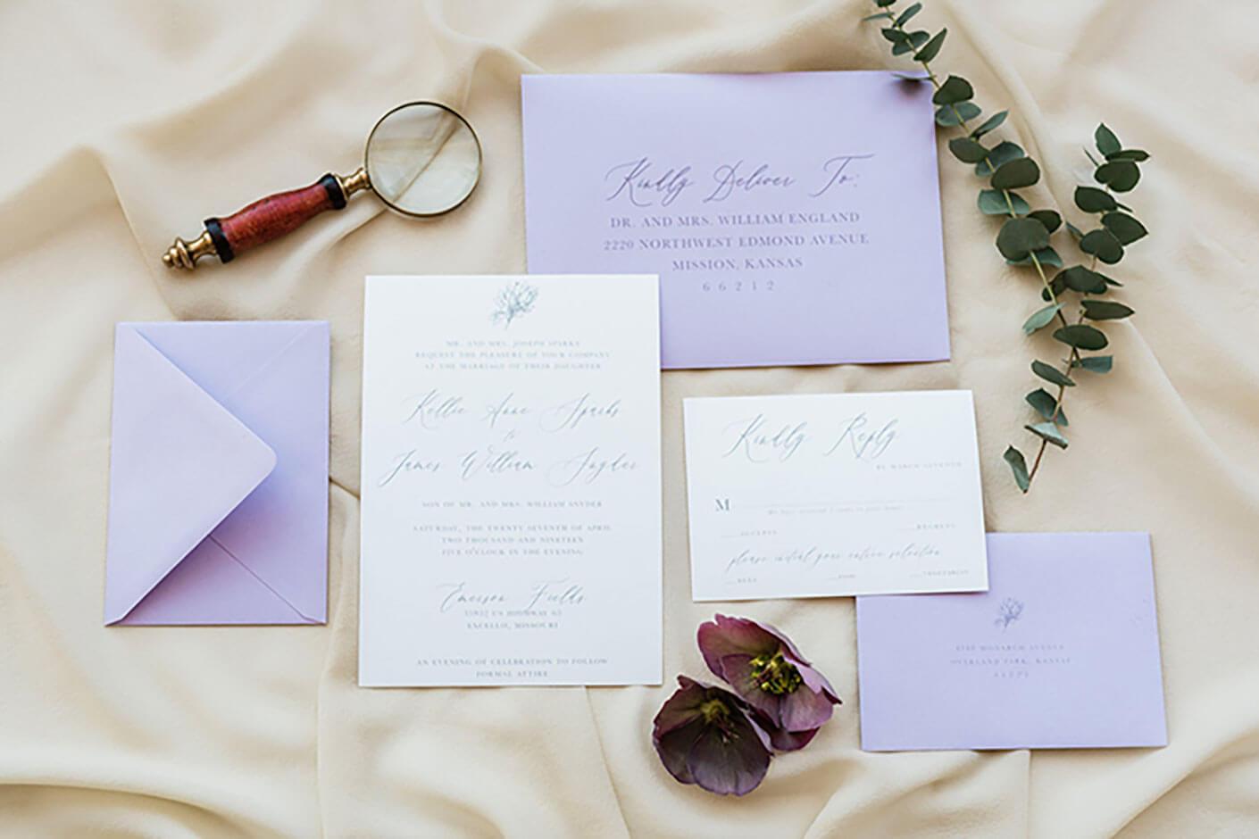 Image for Our Favorite Boho Wedding Invites for a Kansas City Wedding