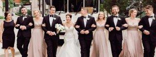 Image for Real Belle Vogue Bride Madison + Jay