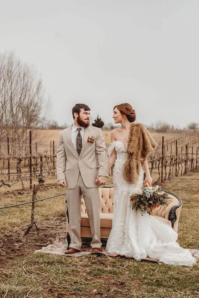 Martina Liana Bohemian Wedding Dress - Kansas City