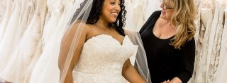 Image for Plus-Size Wedding Dress Shopping Tips from Alex Larosa