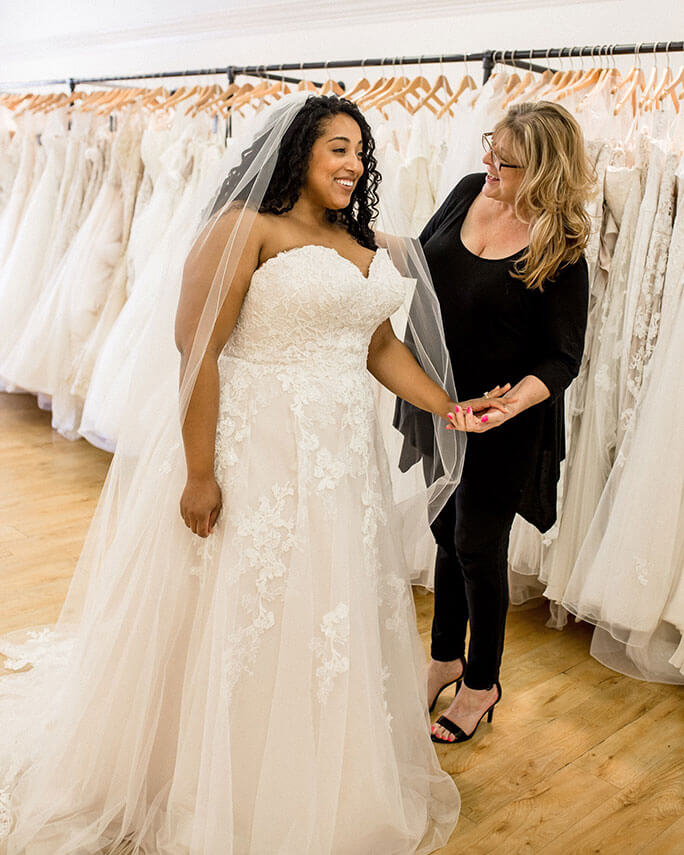 Plus-Size Wedding Dress Shopping Tips From Alex Larosa