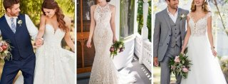 Image for Best Boho Wedding Dresses at Belle Vogue Bridal