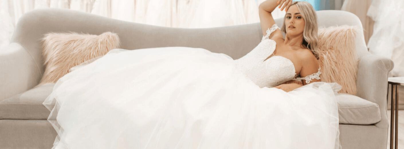 Image for Blogger Sarah Riley Rose Visits Belle Vogue Bridal