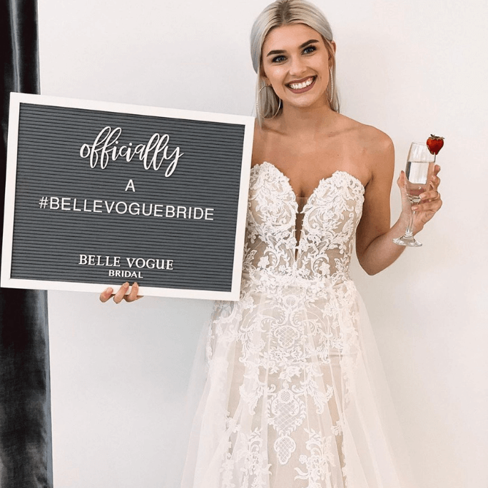 belle vogue bride