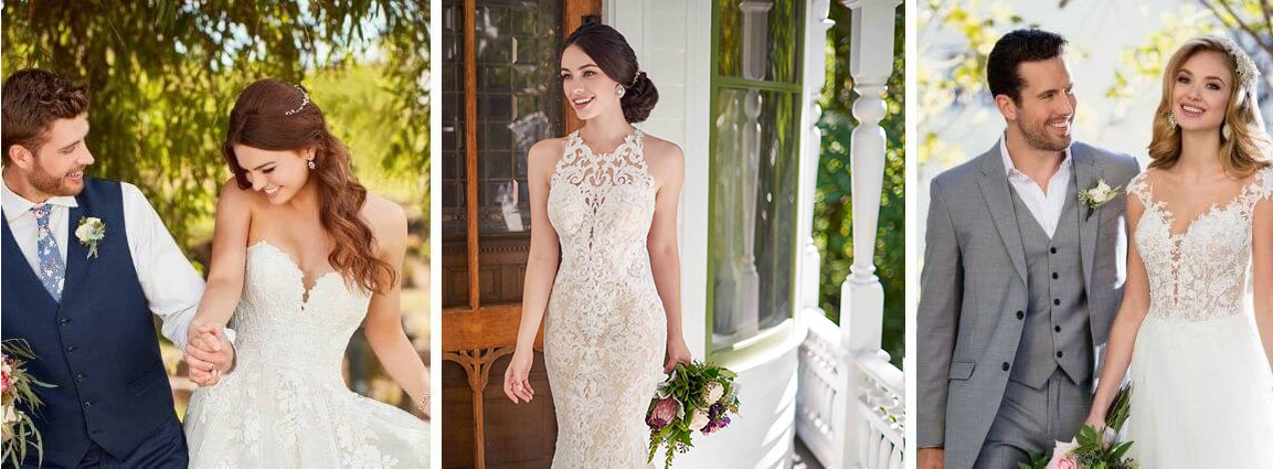 Image for Best Boho Wedding Dresses at True Society