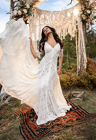 Boho Wedding Dress Designer All Who Wander