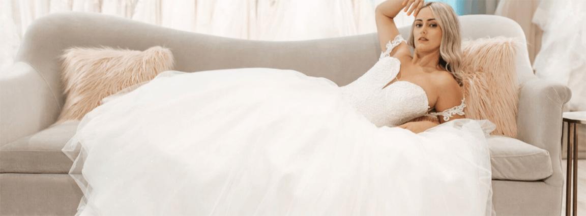 Image for Blogger Sarah Riley Rose Visits True Society by Belle Vogue Bridal