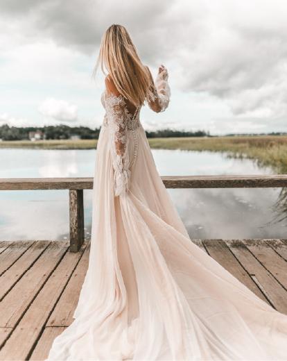 Long Sleeve Wedding Dresses True Society Bridal Shops
