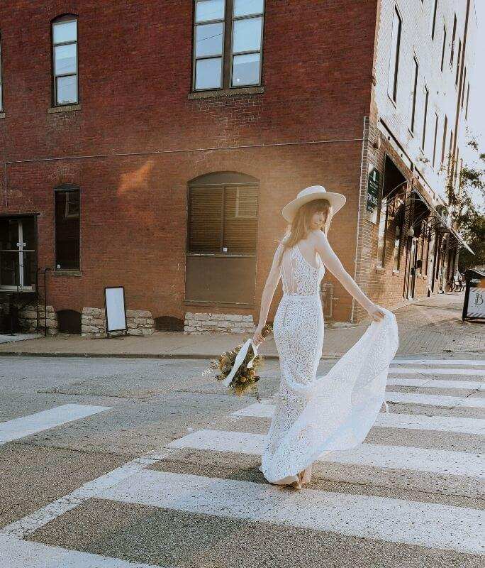 all who wander adley gown