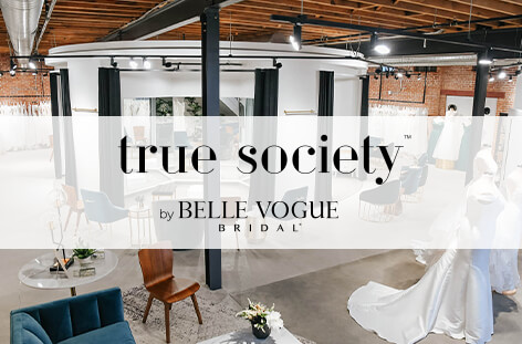 True Society by Belle Vogue Bridal located int he Crossroads Arts District in Kansas City, MO