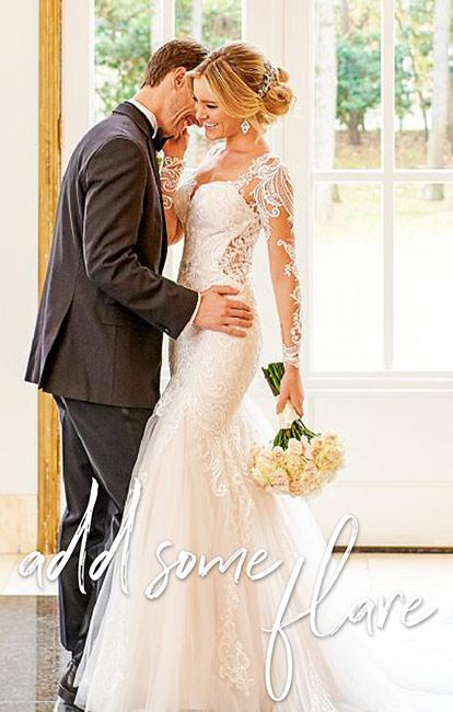Mermaid Wedding Dresses True Society Bridal Shops