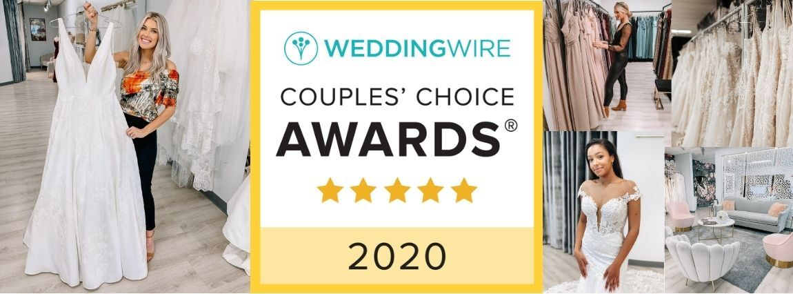 Image for True Society by Belle Vogue Bridal Wins the 2020 WeddingWire Couples' Choice Award