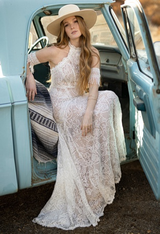 Boho Wedding Dress Designer All Who Wander