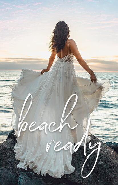 Beach Wedding Dresses True Society Bridal Shops