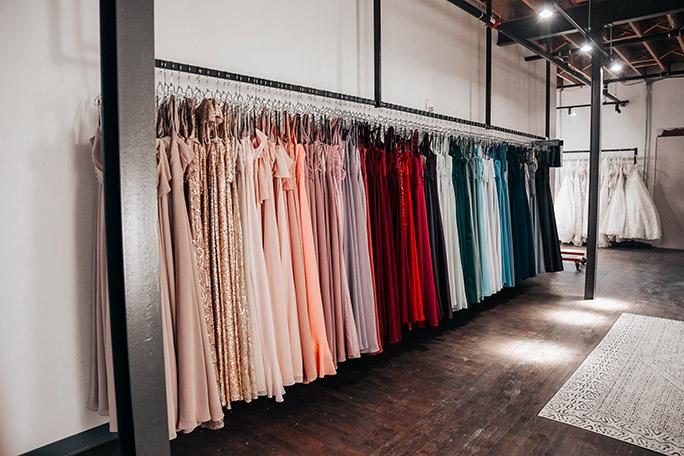 bridesmaid dress store