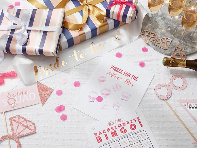 Bridesmaid proposal game night idea