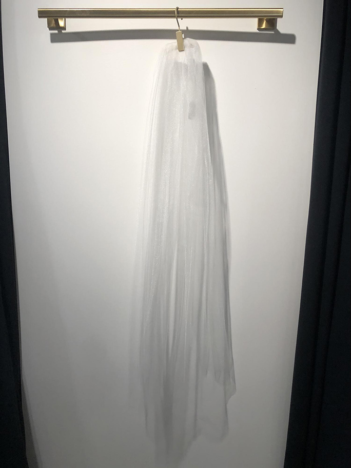 Long and Simple Tulle Veil: 2050ST by Marionat
