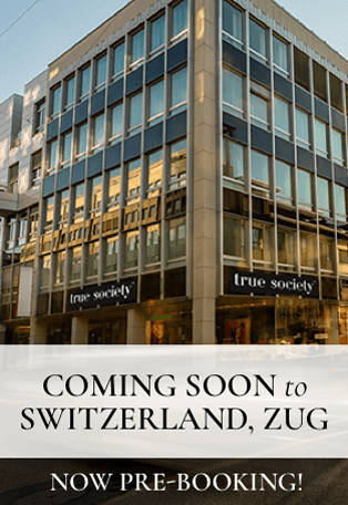 True Society Zug: Coming Soon to Zug Switzerland, Now Pre-Booking