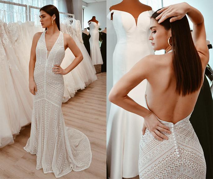 casual boho wedding dress - style by oxford street
