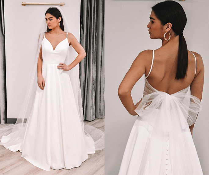 clean style look - style 7211 by stella york